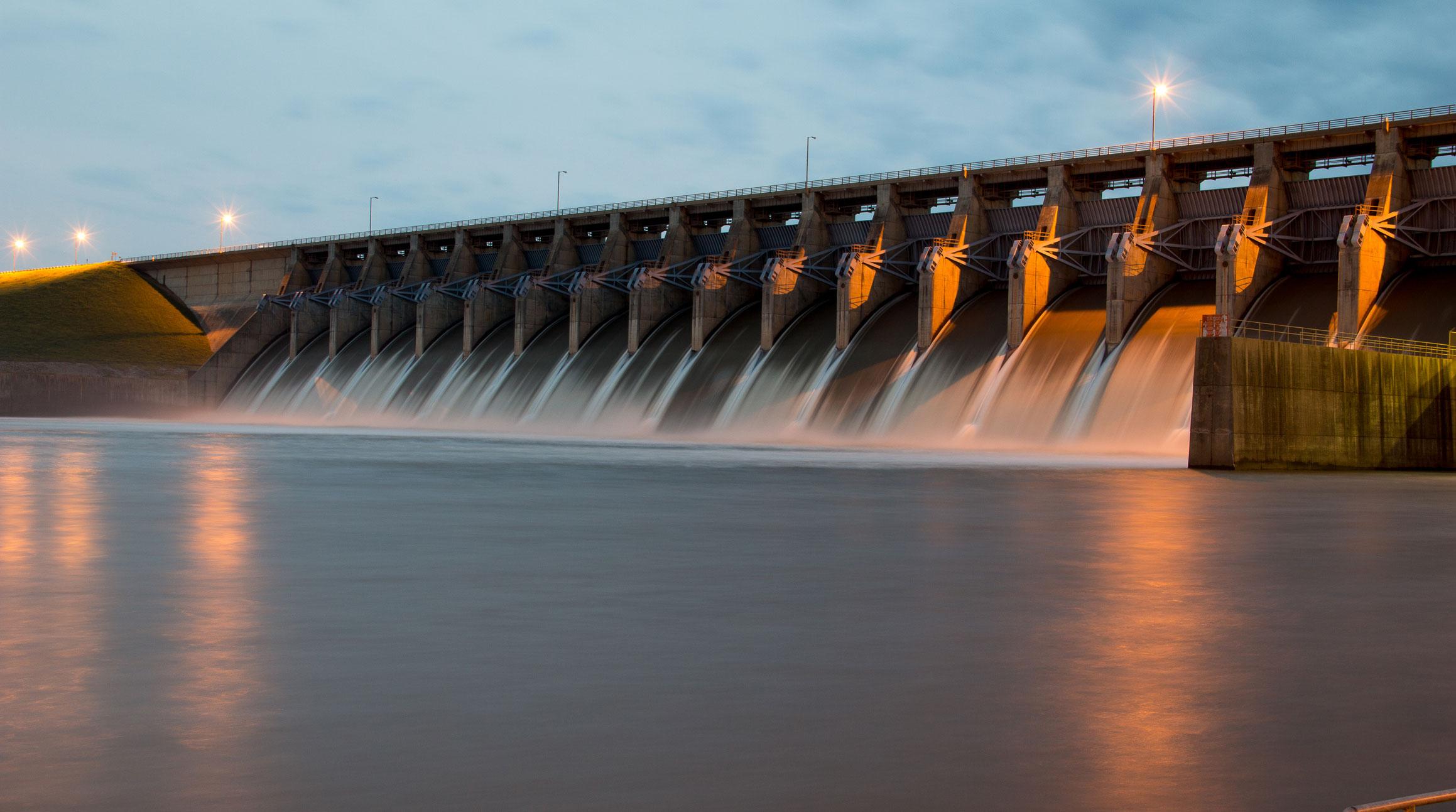 Hydro-Electric-dam